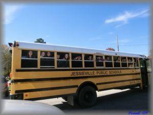 ホットスプリングスのスクールバス